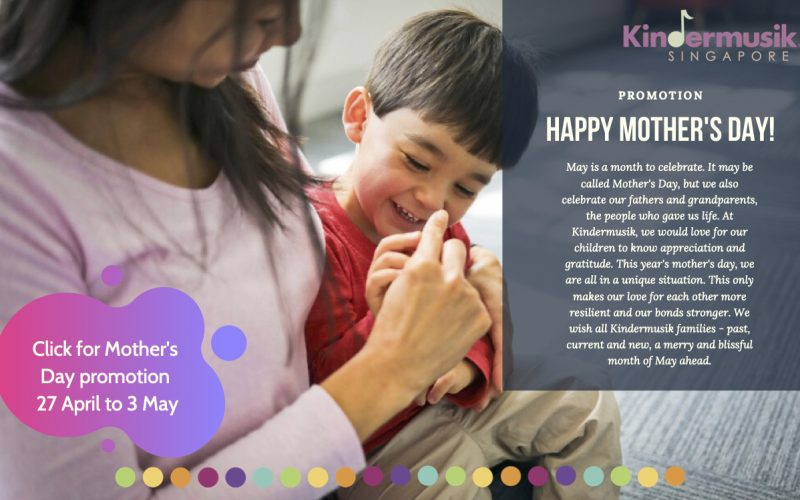 Mother day promo for website